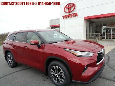 2020 Toyota Highlander New 2020 Highlander XLE 3.5L V6 AWD 2020 Highlander XLE AWD 3.5L Dynamic Nav Sunroof Leather 8 Seat Ruby Flare Pearl