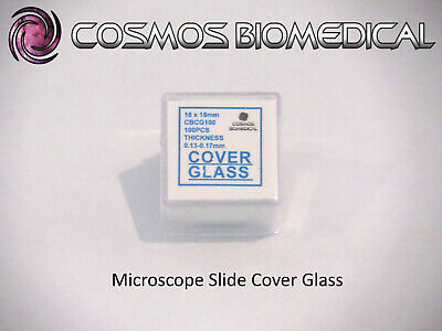 Microscope Cover Glass (10 packs of 100pcs)