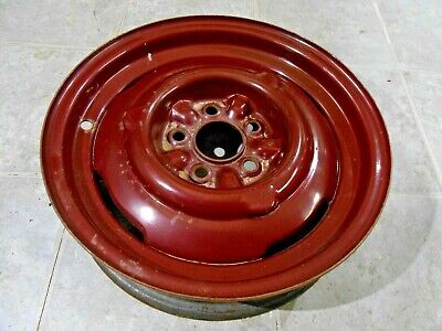 "RARE Set Of 4 16"" 49-51 Ford factory accesory wheels"
