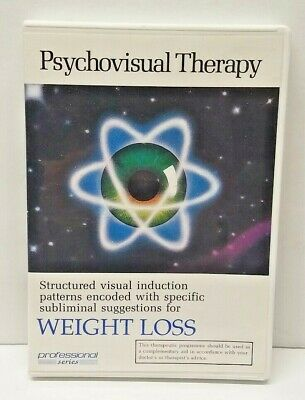 Psychovisual Therapy Weight Control Weight Loss Subliminal Hypnotic DVD Trance