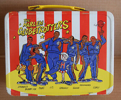 Vintage Harlem Globetrotters 1971 Vintage Metal Lunch Box