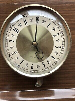 Vintage Clock Face  Dial And Movement
