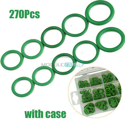 270Pc Rubber O Ring Washer Assortment Sets Metric Hydraulic Plumbing Gasket Seal