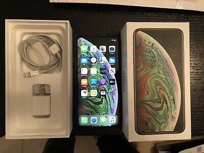 Apple iPhone XS Max - 64GB - Space Gray (Unlocked) Excellent With Apple Care