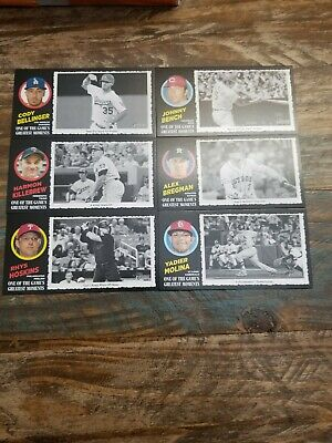 2020 Topps Heritage Greatest Moments Lot Of 6