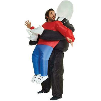 Funny Lift Me Up Inflatable Fancy Dress Costume Party Slenderman Pick Me Up