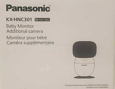 Panasonic Additional Camera for Long Range Video Baby Monitor (KXHNC301), White
