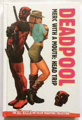 Deadpool Merc with a Mouth Hardcover TPB. Marvel 2018. FN/VF condition.