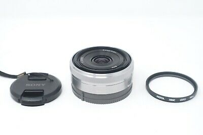 Sony 16mm F2.8 SEL16F28 Sharp Wide Angle Prime Lens, Sony E-Mount, V. G. Cond.