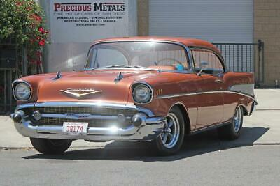 1957 CHEVROLET Bel Air/150/210 HARDTOP 1957 CHEVROLET BEL AIR HARDTOP 28,333 Miles SIERRA GOLD   Automatic
