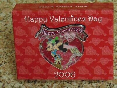 DIsneyland LE Boxed Pin - VALENTINE'S DAY 2006