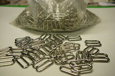 """Wholesale Silver loop. for 90 pieces. 1"""""""