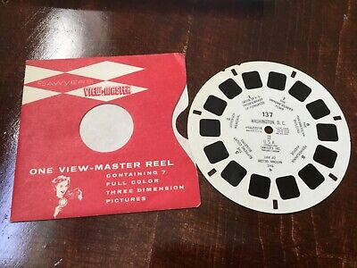 Sawyers viewmaster 137 Washington DC 1950