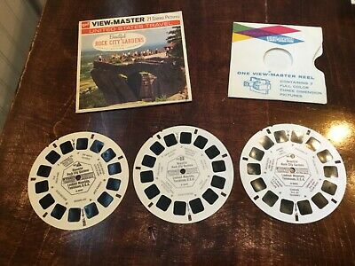 Gaf View Master A 884 Rock City Gardens , lookout mountain Tennessee