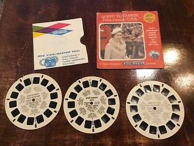 Sawyers View Master B 925 Queen Elizabeth visits Canada-USA 1957