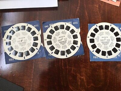 Sawyers viewmaster 930 Rin-Tin-Tin, 3 reels, 1955