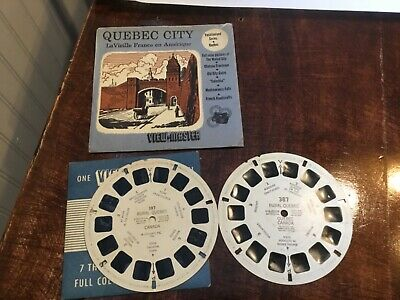 Sawyers View Master Quebec City vacationland Series