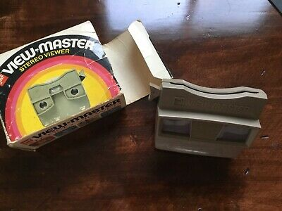 Vintage Gaf View Master Stereo Viewer, used with box