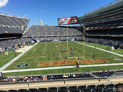 2 Tix Chicago Bears Vs Green Bay Packers Soldier Field Section 223
