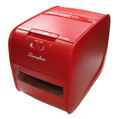 Swingline Auto Feed Paper Shredder, 60 Sheets, Cross-Cut, Stack-and-Shred 60X