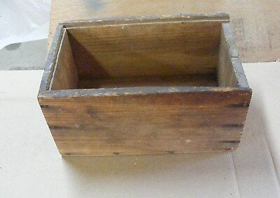 Vintage/antique Hand Made Wood Box