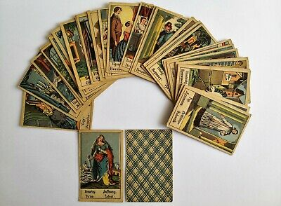 Antique Gypsy Fortune Telling  Tarot Card Complete Deck Original From 1910s
