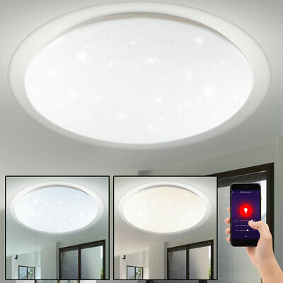 Smart Home LED Ein Aufbau Panel Alexa Google DIMMER Decken Lampe FERNBEDIENUNG