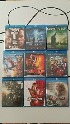 Lot Blu ray comme neuf