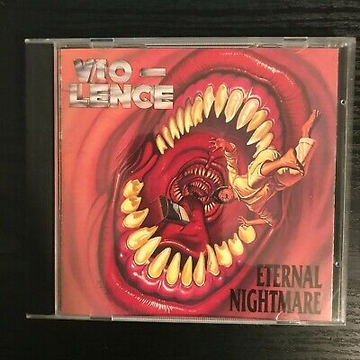 Vio-lence Eternal Nightmare 1988 Original Press CD ULTRA RARE Thrash