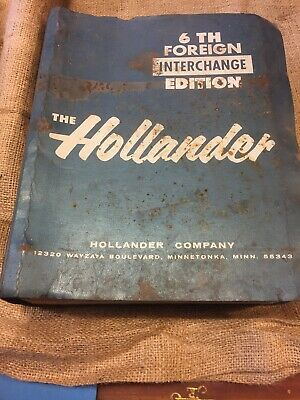 The Hollander Foreign Interchange 6th Edition 1982