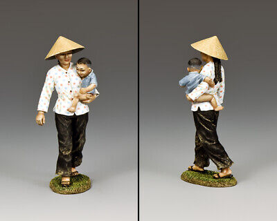 King & Country Vietnam War Vn054 Mother & Child Mib