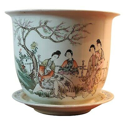 Late Qing Early Republic Chinese Porcelain Planter