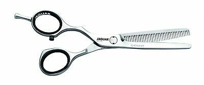 JAGUAR Shears White Line Silver Ice 46 Professional Thinning Scissors