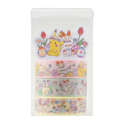 Pokemon Center Original Eevee DOT COLLECTION Sticky Paper Masking Tape Evolution