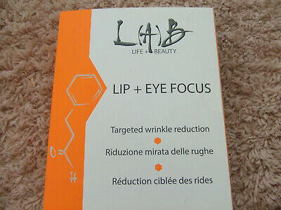 Lab Life & Beauty Lip & Eye Focus Targeted Wrinkle reduction
