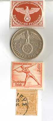 #-12)-1936-*german  Olympic and WWII stamps/coin.900%+1896-*greek Olympic stamp