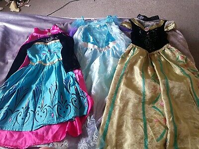 F/&F Frozen Elsa fancy dress outfit dressing up costume tiara  WORLD BOOK DAY