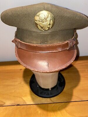 World War II Army US Air Force Corps Officers  Hat WWII WW2 USAF Nobby's