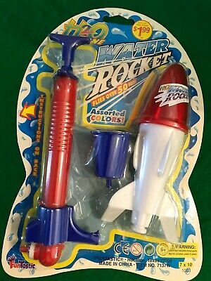 Vintage 1970's Water Rocket NIP Toy By Funtastic Toys