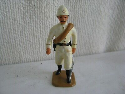 toy soldier- French colonial officer