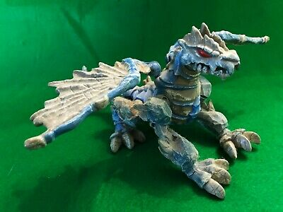 Imaginext Blue Armored Dragon Toy Figure