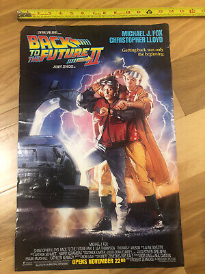 Vintage 1989 Original - Back to The Future II - Poster