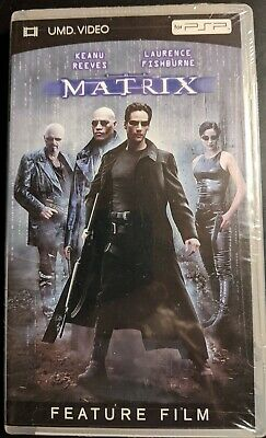The Matrix for Sony PlayStation PSP UMD Video NEW SEALED