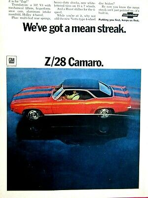 ** Camaro Advertisement Group #07 Your choice from a lot of 12 1972 1973 1974 75