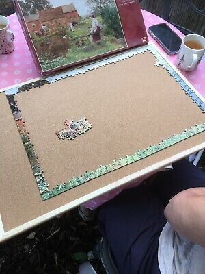 Jigsaw Puzzle Board, Please See My Feedback For Reviews. 60/40cm's