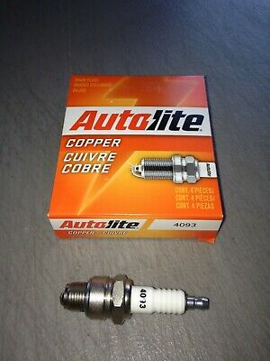 Pack of 4 Autolite 2974 Copper Non-Resistor Spark Plug