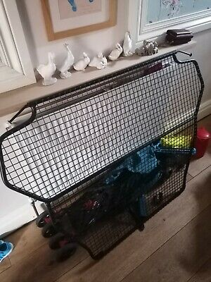 FORD KUGA DOG GUARD Boot Pet Safety Mesh Grill Barrier EASY HEADREST FIT !