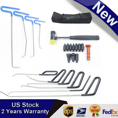 Push Rods Spring Steels Kit Paintless Dent Repair Hail Removal ABC Tools
