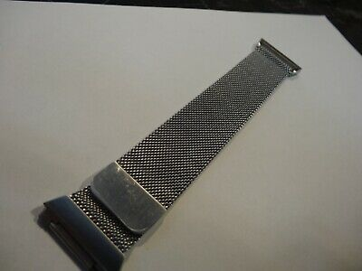 For Fitbit Ionic Replacement Metal Milanese Loop Band Watch Strap Bracelet  SILV