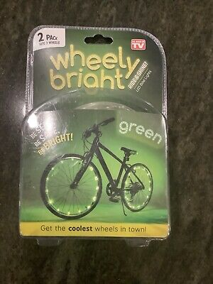 WHEELY BRIGHT 1 PACK FITS 2 WHEELS BRAND NEW